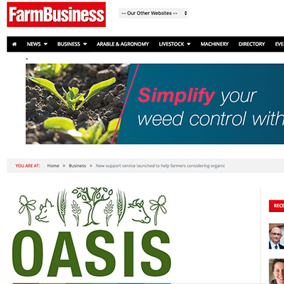 Farm Business - OASIS launched